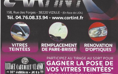 "GRAND JEU CARTINT à URIAGE CABRIOLET ""CLASSIC"""